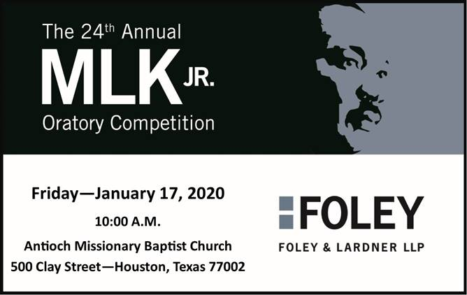 24th Anual MLK Jr. Oratory Competition